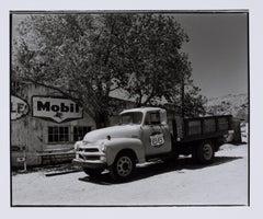 Hideoki, Black & White Photography, Vintage Car 02, Route 66, 2003