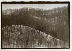 Snowy Hills, Hokkaido, Japan, 1977, Silver Gelatin