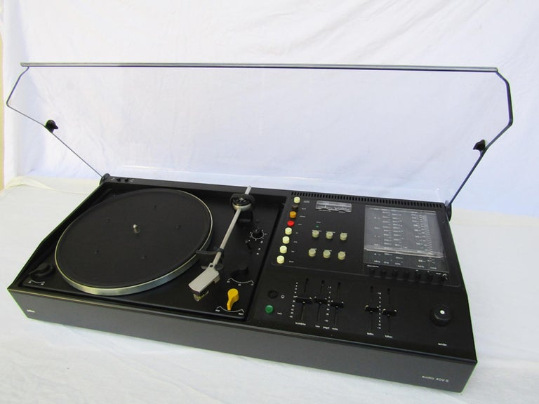 German HiFi Stereo Audio 400S by Dieter Rams for Braun, 1973 For Sale