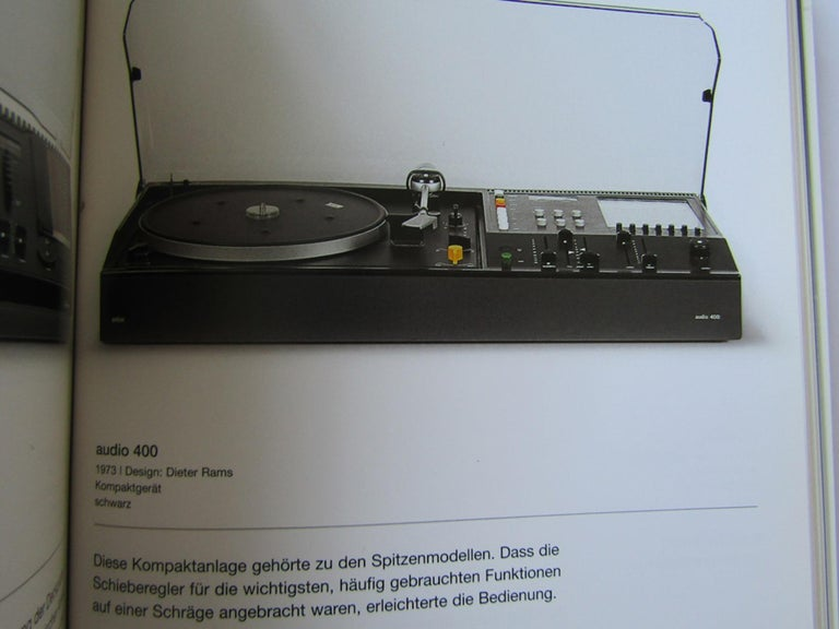 Anodized HiFi Stereo Audio 400S by Dieter Rams for Braun, 1973 For Sale