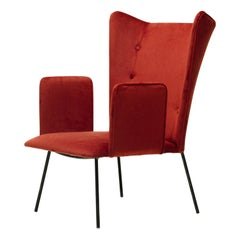 High Armchair by Carlo Hauner and Martin Eisler, Brazilian Midcentury Design