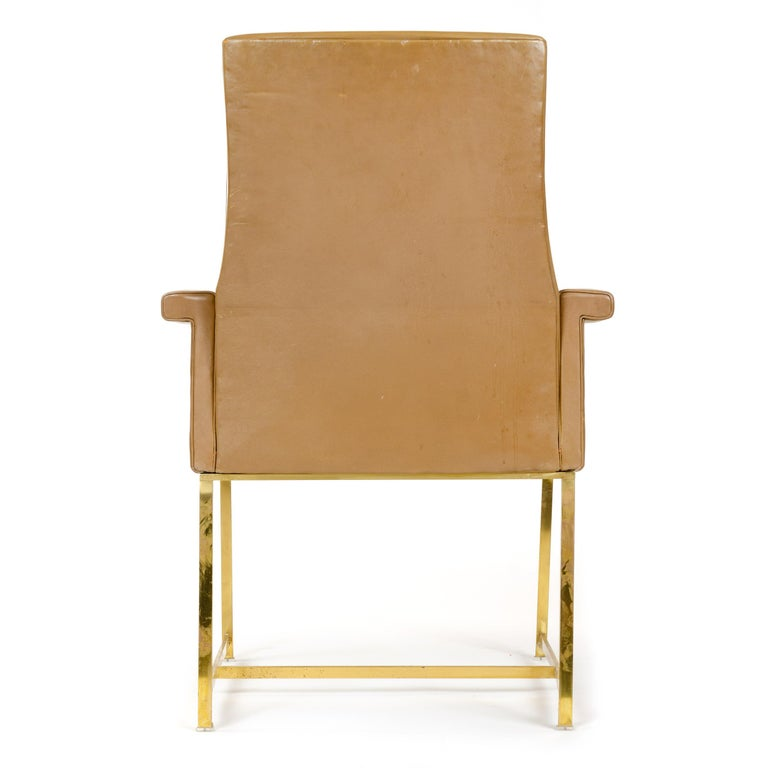 American High Back Armchair by Jules Wabbes For Sale