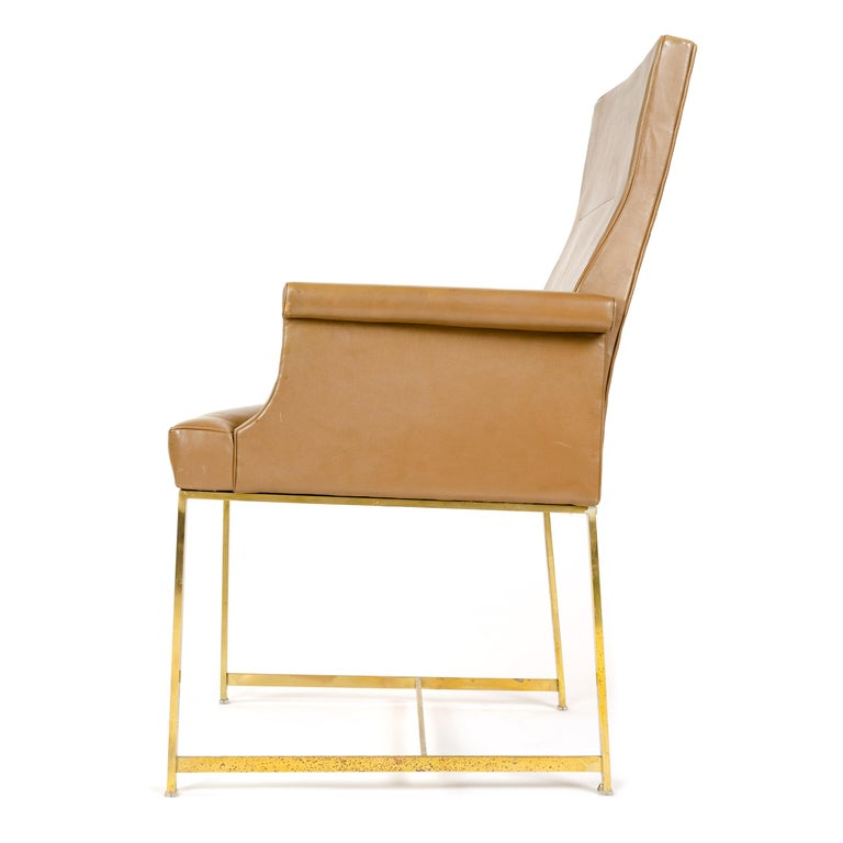 High Back Armchair by Jules Wabbes In Good Condition For Sale In Sagaponack, NY