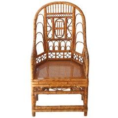High Back Bamboo Brighton Chair