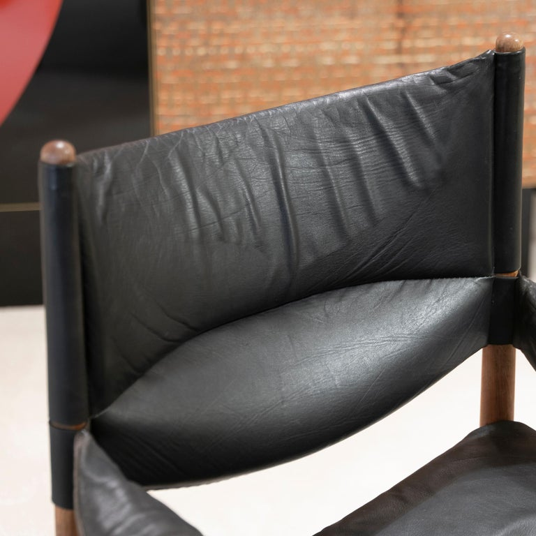 High Back Lounge Chairs by Kristian Vedel Made by Søren Willadsen, 1963 4