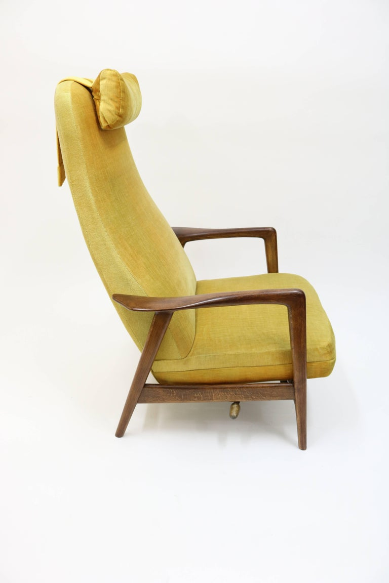 High Back Rocker and Recliner by Folke Ohlsson for DUX For Sale 9