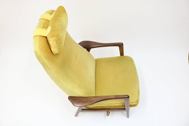 High Back Rocker and Recliner by Folke Ohlsson for DUX For Sale 11