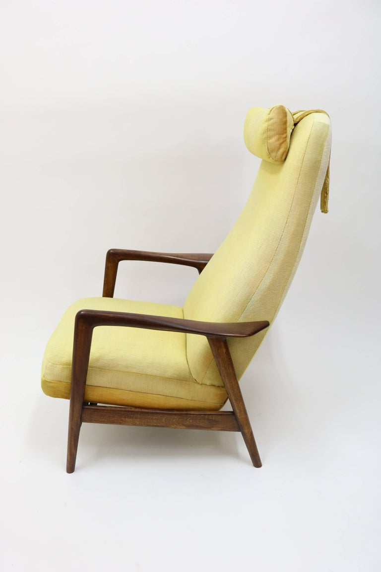 High Back Rocker and Recliner by Folke Ohlsson for DUX For Sale 13