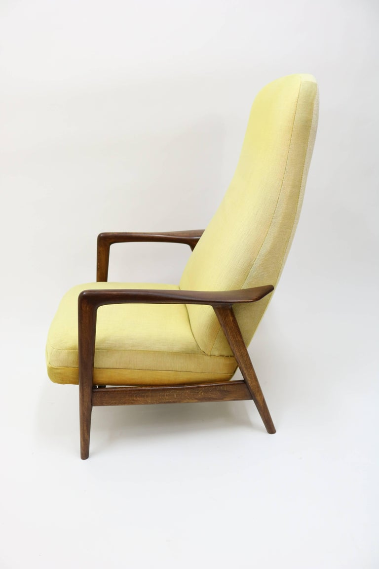 High Back Rocker and Recliner by Folke Ohlsson for DUX For Sale 2
