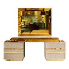 High End 4 Drawer Luxury Dressing Table, Gattopardo