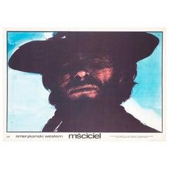 High Plains Drifter 1975 Polish Film Movie Poster, Freudenreich, Clint Eastwood