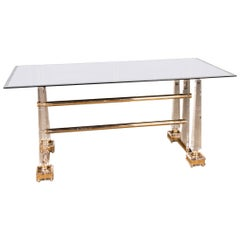 High Quality Acrylic Dining Table