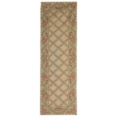 High Quality Aubusson Rugs, Hand Woven Runner Carpet, Needlepoint Floor Area Rug