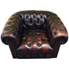 High Quality Chesterfield Armchair Made in England