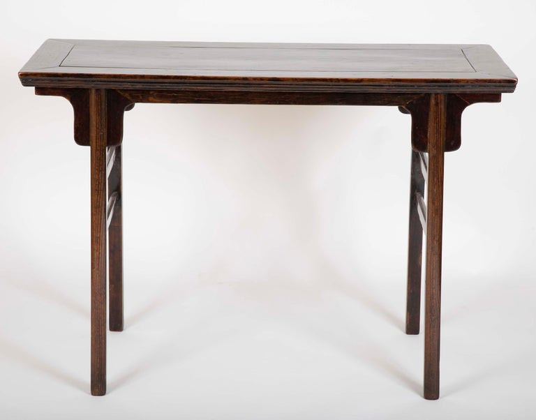 A high quality Chinese altar table having wonderful patina.