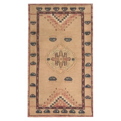 High Quality Cream Kilim Rug, Tribal Carpet Rug
