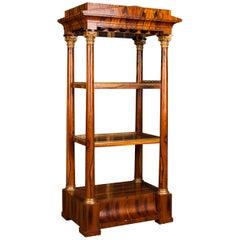 High Quality, Elegant Étagère Shelf in Biedermeier Style