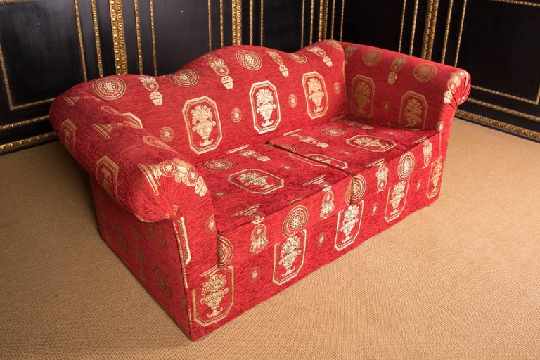 Revival High Quality Original Club Sofa Two-Seat in English Style For Sale