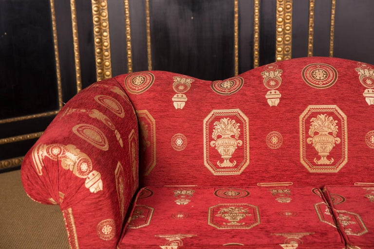 French High Quality Original Club Sofa Two-Seat in English Style For Sale