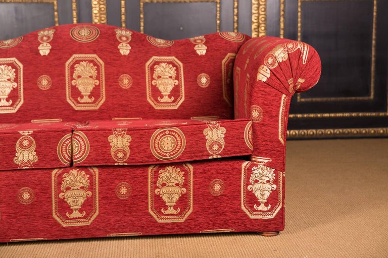 20th Century High Quality Original Club Sofa Two-Seat in English Style For Sale