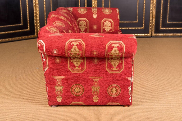High Quality Original Club Sofa Two-Seat in English Style For Sale 2
