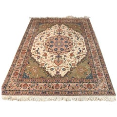 High Quality Rug, Carpet Cork Wool with Silk Very Fine Knotted