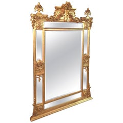 High Quality Salon Mirror in Louis Seize Style