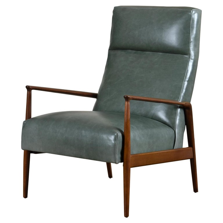 Completely restored, Mid-Century Modern high back