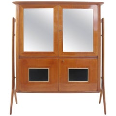 Highboard in the Style of Ico Parisi, Italy, Mid-20th Century