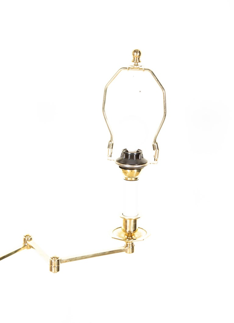 Highest Quality Solid Brass French Floor Lamp For Sale 2
