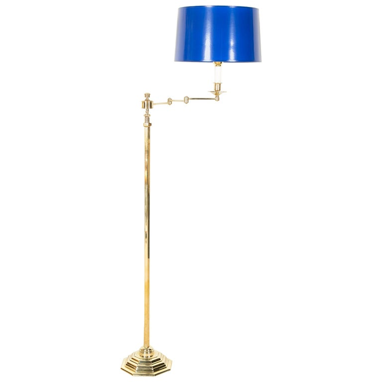 Highest Quality Solid Brass French Floor Lamp For Sale