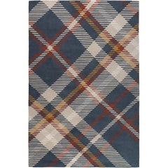 Highland Hand-Knotted 10x8 Rug in Wool by Vivienne Westwood