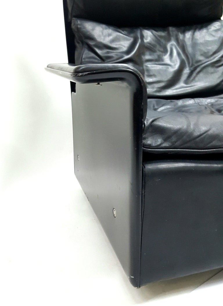 Highly Comfortable, Cozy Armchair Designed by Dieter Rams for Vitsoe, 1960s In Good Condition For Sale In Budapest, HU