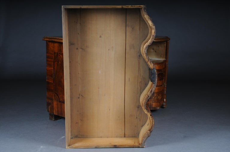 Highly Interesting Inlaid Baroque Commode, circa 1740 For Sale 6