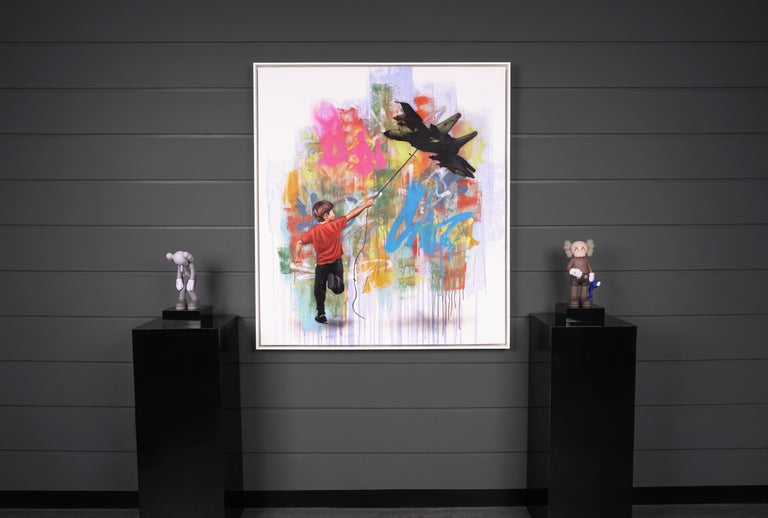 Hijack, 'In No Sense', 2020 - Contemporary Mixed Media Art by Hijack