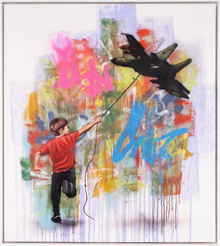 Hijack, 'In No Sense', 2020 - Mixed Media Art by Hijack