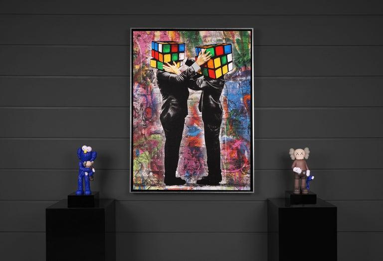 Hijack, 'Puzzled II', 2020 - Contemporary Mixed Media Art by Hijack