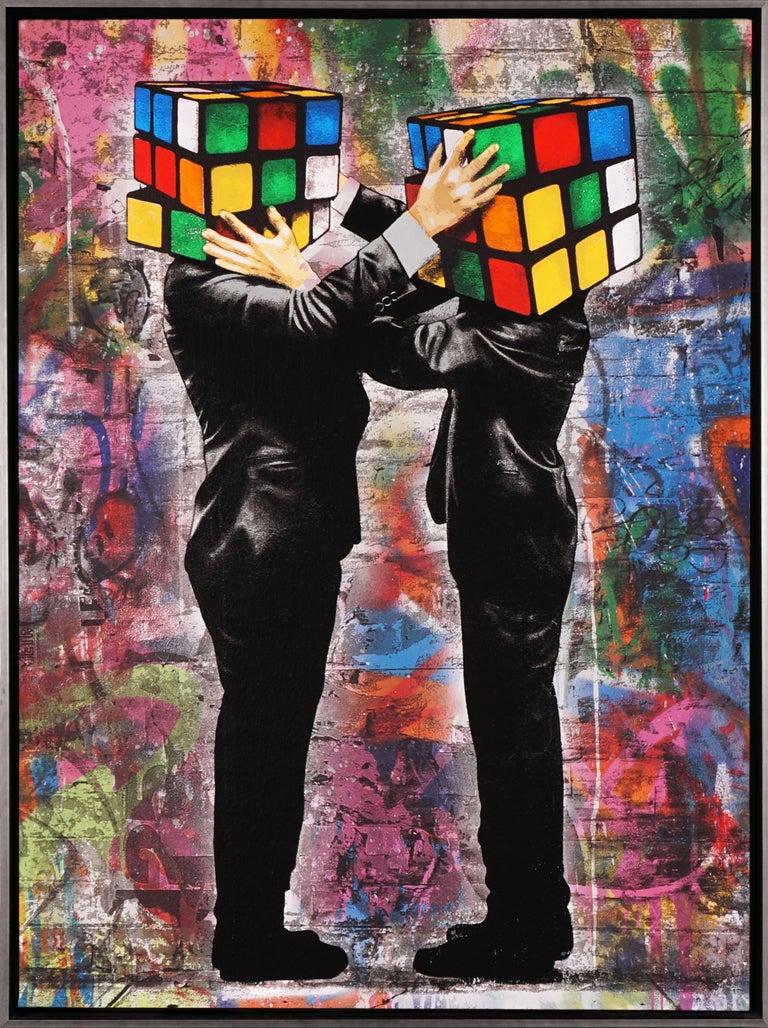 Hijack, 'Puzzled II', 2020 - Mixed Media Art by Hijack