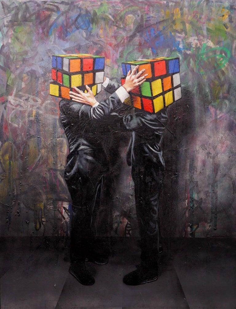 Hijack, Puzzled (Unique), 2018 For Sale 3