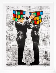 Hijack, 'Puzzled' Print, 2020