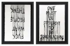 IRREPLACEABLE & OPINIONS (DIPTYCH)