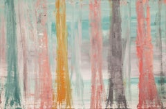 Birch Trees 1, Painting, Acrylic on Canvas