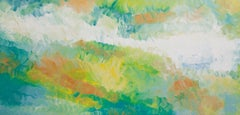 Botanical Garden 4, Painting, Acrylic on Canvas