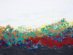 Sunrise Vista, Painting, Acrylic on Canvas