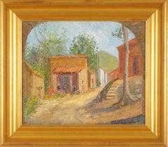Village Scene Landscape