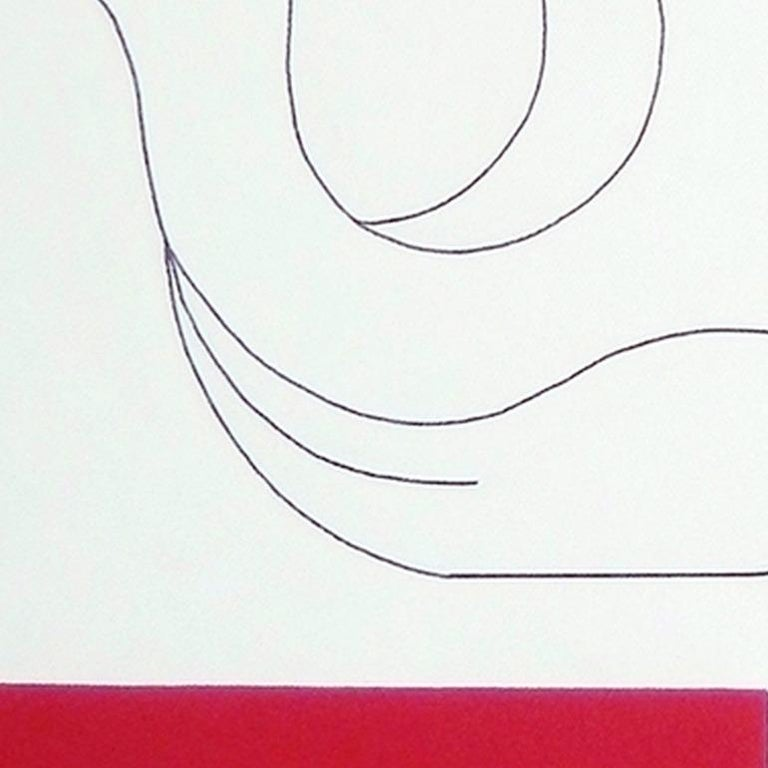 'L'Oiseau de Liberte' by Hildegarde Handsaeme, acrylic on canvas, abstract For Sale 3