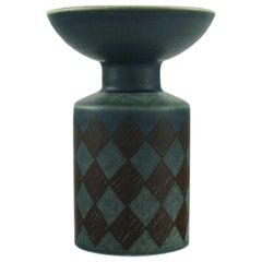 Hilkka-Liisa Ahola for Arabia, Modernist Glazed Ceramic Vase, 1968