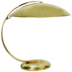 Hillebrand Brass Desk or Table Lamp, Art Deco, 1930s