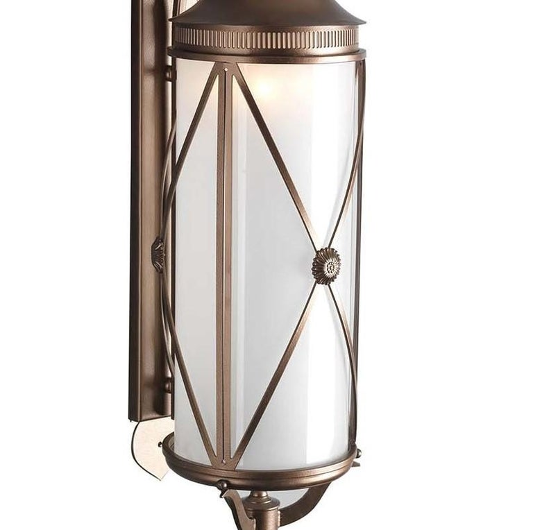 Italian Hills Outdoor Wall Lantern by Officina Ciani For Sale