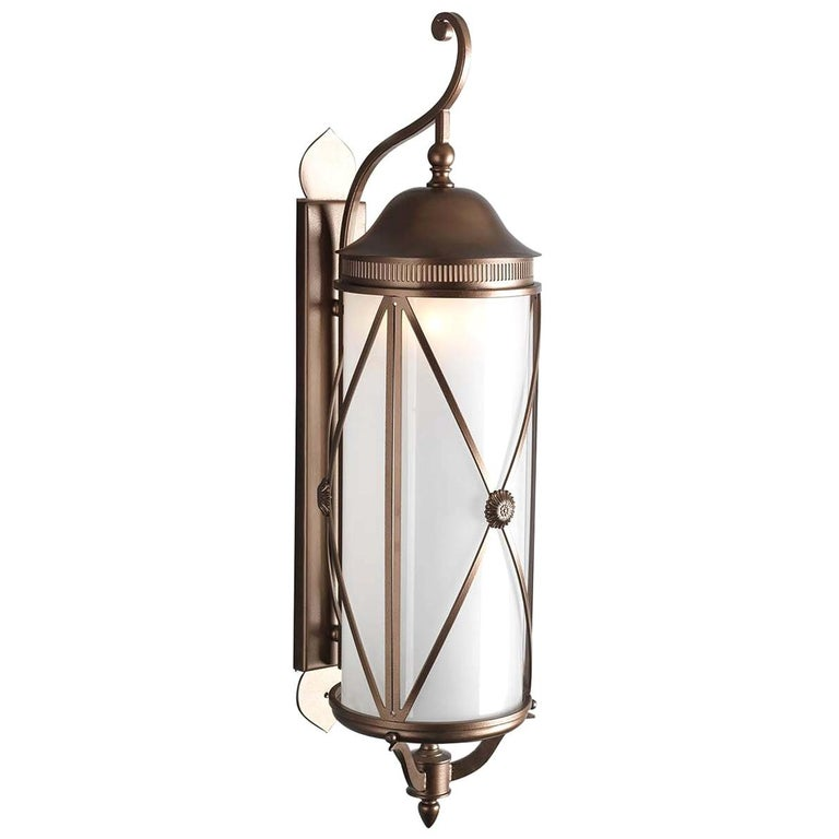 Hills Outdoor Wall Lantern by Officina Ciani For Sale